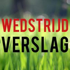 Wedstrijdverslag: WEO 2 – Nieuweschans 2 (2 – 7)