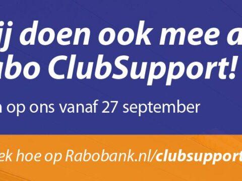 Stem op v.v. Nieuweschans tijden Rabo ClubSupport!
